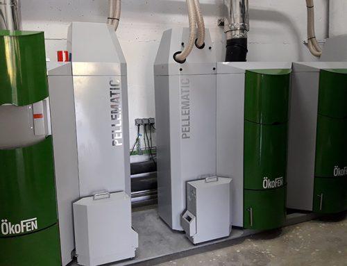 Biomasa para calefacción y A.C.S en colegio público de Lesaka