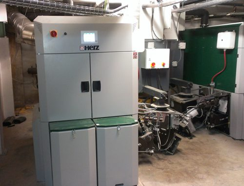 Biomasa para calefacción y A.C.S. en Unión Deportiva Chantrea