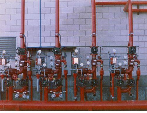 Instalación de prevención de incendios de TI AUTOMOTIVE