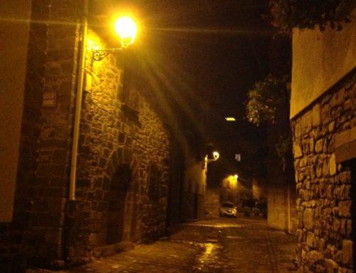 Alumbrado público LED PC-Ámbar en Valle del Roncal