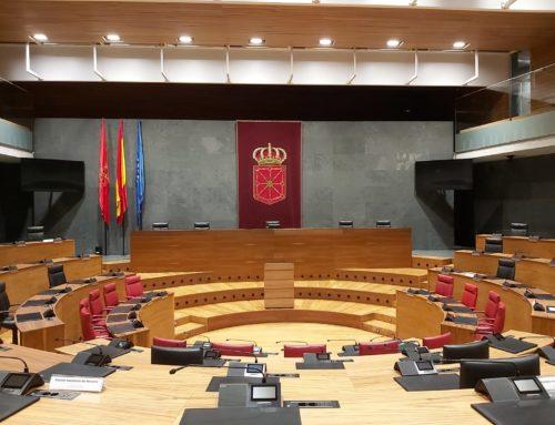 Renovación Iluminación del Parlamento de Navarra